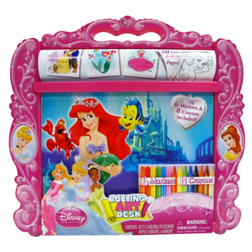 Princess Rolling Art Desk (Disney Art Desk Princess)