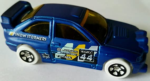 Amazon.com: Hot Wheels Hw Snow Stormers Ford Escort Rally [Blue] - LOOSE!: Toys & Games