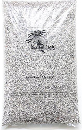 Bonsai Jack 1/4 inch Horticultural Pumice Soil Amendment for Cactus and Bonsai, 3.5 Gallons