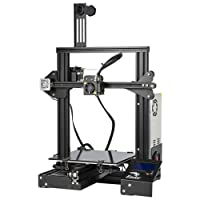 Comgrow Creality 3D Printer Ender-3X with Tempered Glass Plate and Five Free Nozzles 220 * 220 * 250