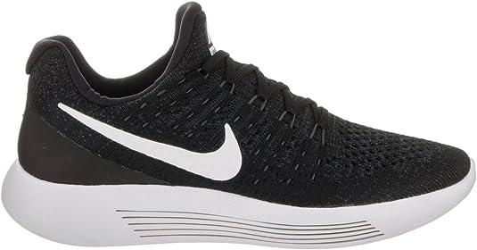 Ponte de pie en su lugar base Persuasión  Amazon.com | Nike Women Lunarepic Low Flyknit 2 Running  (Black/White-Anthracite) Size 8.0 US | Road Running