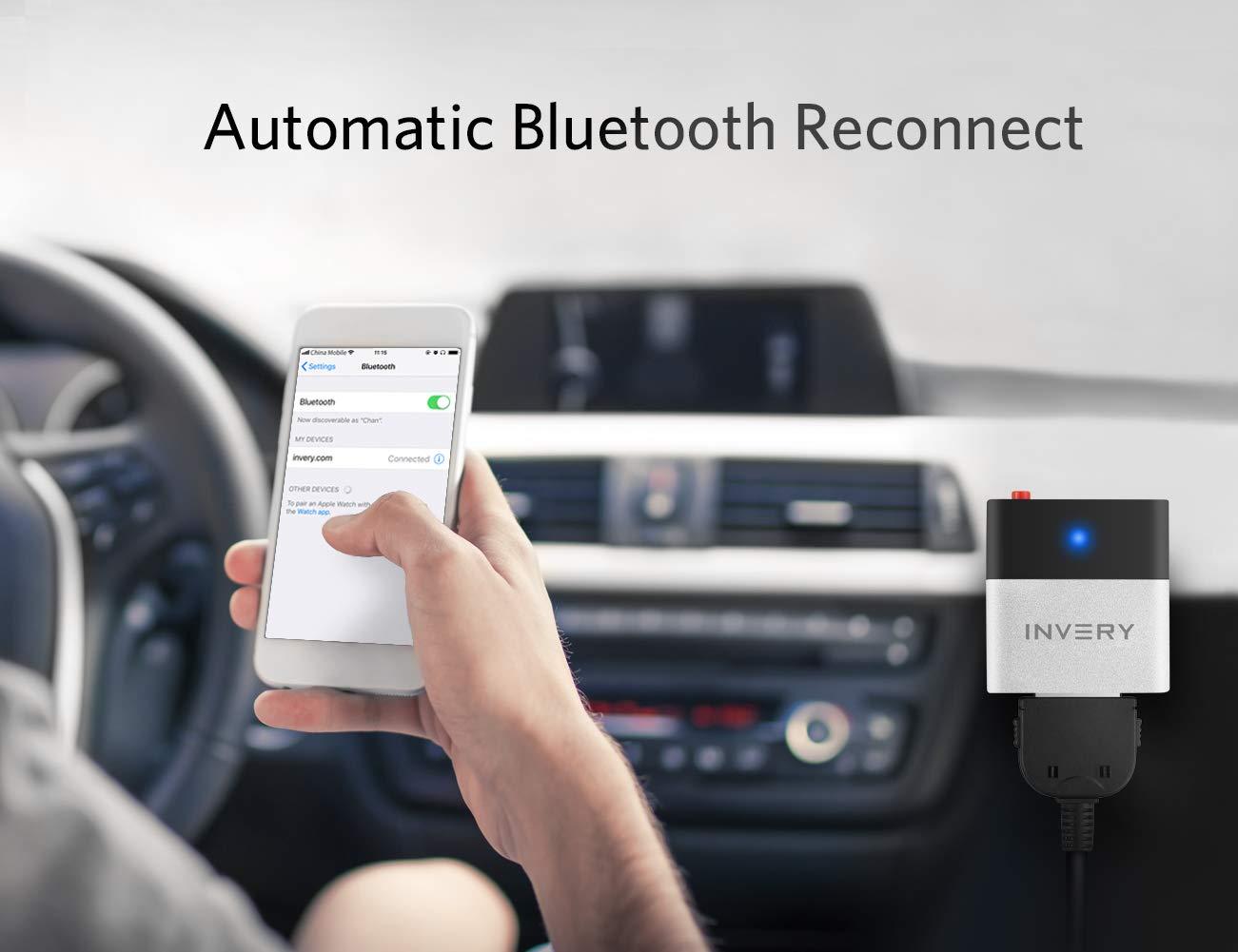 Airdual Wireless Bluetooth Adapter f/ür Audi AMI MMI Volkswagen MDI 30pin iPod Integration Audio Interface Empf/änger mit Kabel