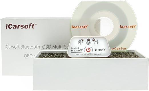iCarsoft Bluetooth OBD Multi de Scan Tool i620/Incluso de diagn/óstico Coche