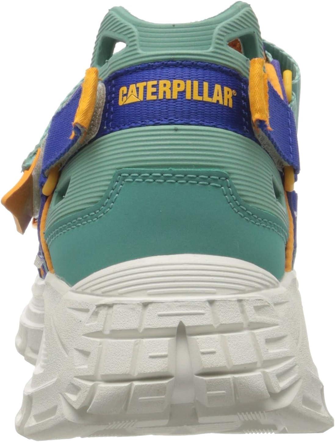 Cat Footwear Progressor Deep Periwinkle//Flame Orange//Sea Blue Dazzling Bl Multi Sandalias de Gladiador Hombre 39 EU Multicolor