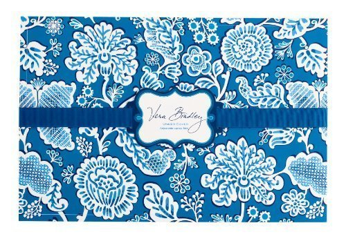 Vera Bradley Under Cover Laptop Skin in Blue Lagoon