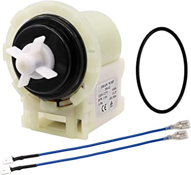 W10130913 Washer Drain Pump Assembly for Whirlpool Kenmore Washers Replaces 8540024 W10730972 W10117829 AP6023956 by Sikawai