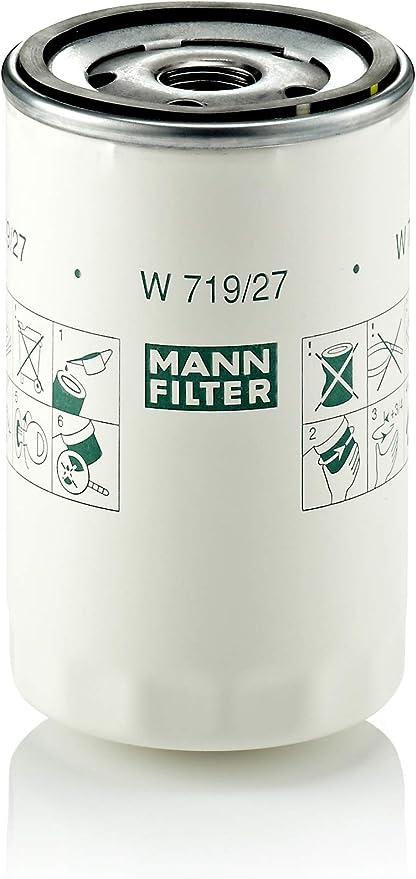 Para autom/óviles y veh/ículos de utilidad MANN-FILTER Original Filtro de Aceite W 7008