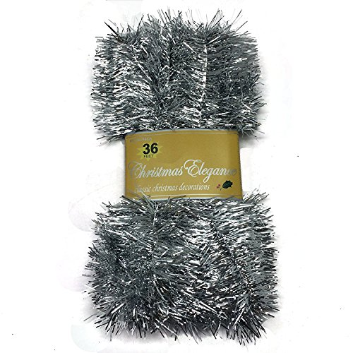 Christmas Garland Classic Decorations Silver