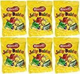 jelly baby candy - Bassetts Jelly Babies 190g (6.78oz) Bag (Pack of 6)