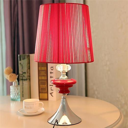 Touch lámpara de mesa lámpara de inducción Dormitorio Noche ...