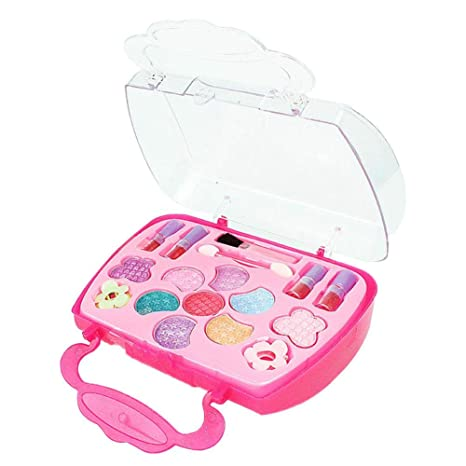 Cosméticos para niños Caja de maquillaje de princesa ...