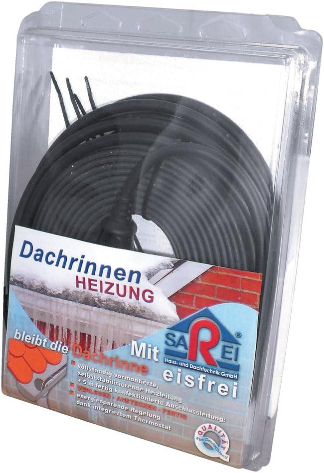 SAREI Haus- und Dachtechnik SHDT Dachrinnenheizung rinnenfrei 10m