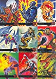 X-Men Fleer Ultra 1995 Complete 150 Card Trading Card Set