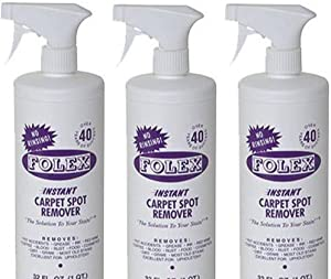 Folex Carpet Spot Remover, 32 oz 3-Pack