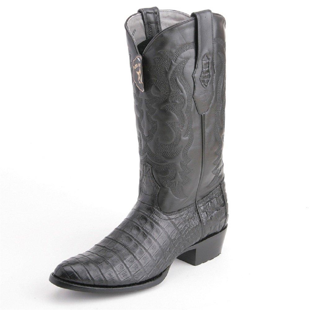 bce1f773b81 Amazon.com   Los Altos boots Mens Caiman Belly Round Toe Western ...