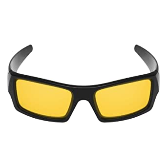 037f8916d4 Amazon.com  Mryok UV400 Replacement Lenses for Oakley Gascan - HD Yellow   Clothing