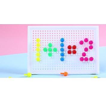 Amazon.com: Jigsaw - Puzzle de mezcla de colores, 96 clavos ...