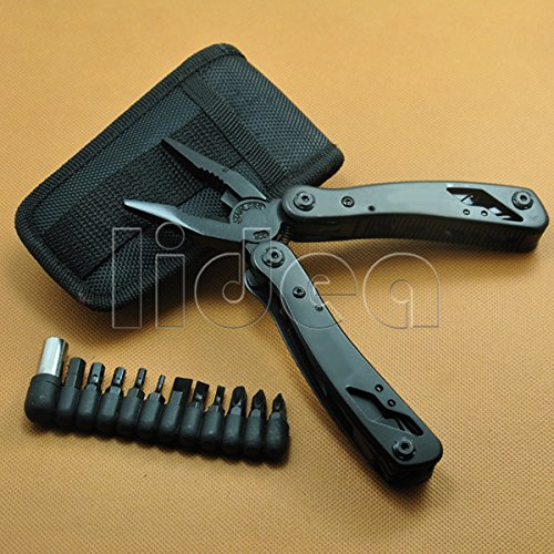 Survival Hand Tools Alicate Portable Multi Functional Folding Multitool Pliers with Knife Screwdriver Ferramentas HK HW-55 - - Amazon.com
