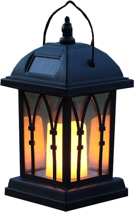 Lámparas solares para colgar lámparas de jardín, luces de viento, luz solar, velas de jardín, lámparas de mesa, luces de paisaje decorativas: Amazon.es: Iluminación