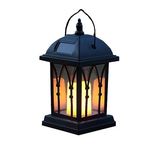 Lámparas solares para colgar lámparas de jardín, luces de viento ...