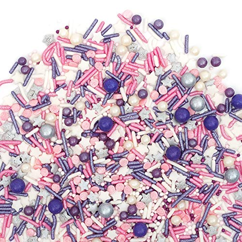 (Sprinkles   STARSTRUCK Sprinkle Medley 8oz   Gorgeous Sprinkle Blends for Every Occassion   GLUTEN FREE. NUT FREE. DAIRY FREE.)