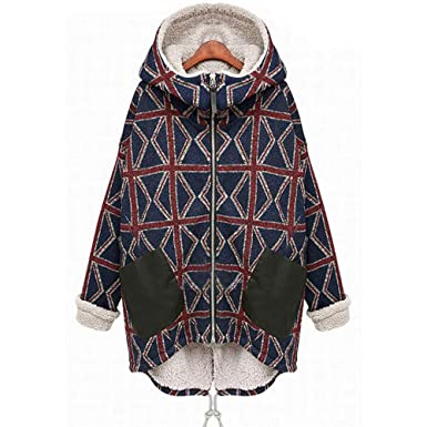 a165c01a2bc7e9 NPRADLA 2018 Große Größen Herbst Damen Jacke Winter Lang Elegant Festlich Frauen  Mantel Woolen Oberbekleidung Casual