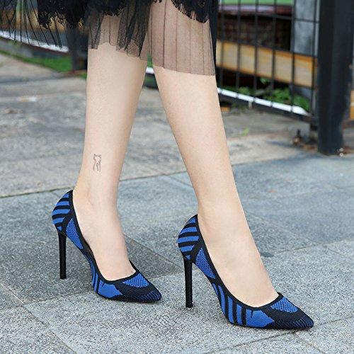 Pumps Womens Renly Classic On Blue Flyknit Slip Dress zp1Yqaw1nd