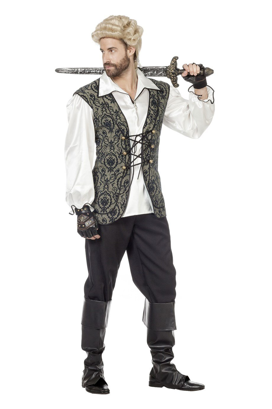 Disfraz de pirata hombre Wilber 5379: Amazon.es: Juguetes y juegos