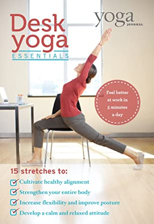 Amazon.com: Yoga Journal: Desk Yoga Essentials: Sienna Smith ...