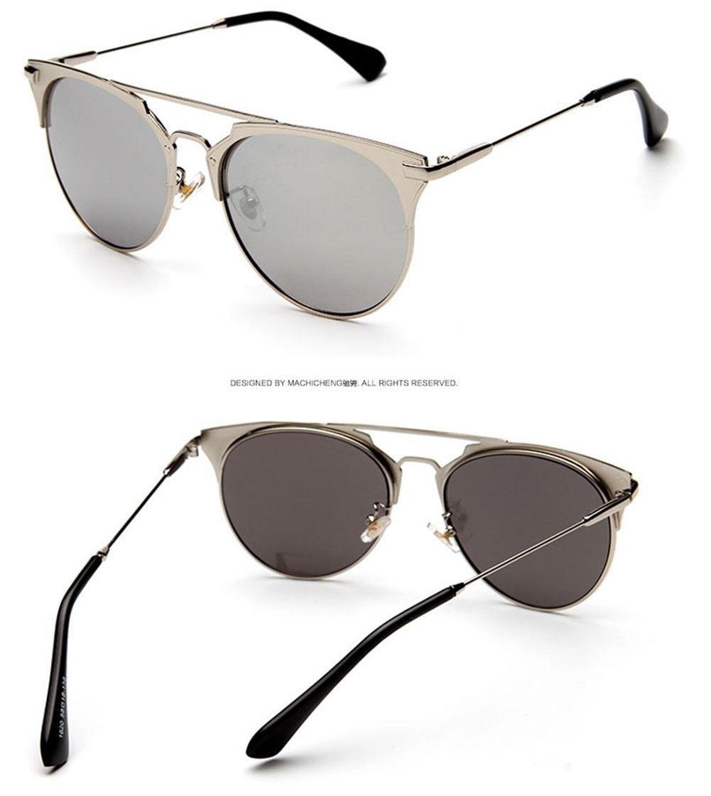 faca329cc976 Alger Gafas de sol de moda Mujeres polarizadas UV400 Anti Glare Street beat  Viaje conducción gafas