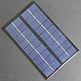 Generic Hot High Quality 9V 3W 330mA Solar Cell Polycrystalline Solar Panel DIY Solar Battery Charger/Small Solar Power System 125*195MM