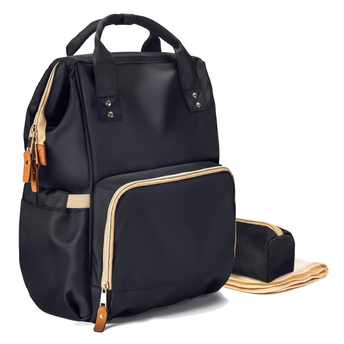 72fae638d8b LNGLAT Diaper Bag Multi-Function Waterproof Large Baby Diaper Bag Backpack  Durable Stylish Unisex...