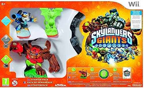Skylanders Giants - Glow In The Dark Wii Starter Pack [Importación Inglesa]: Amazon.es: Videojuegos