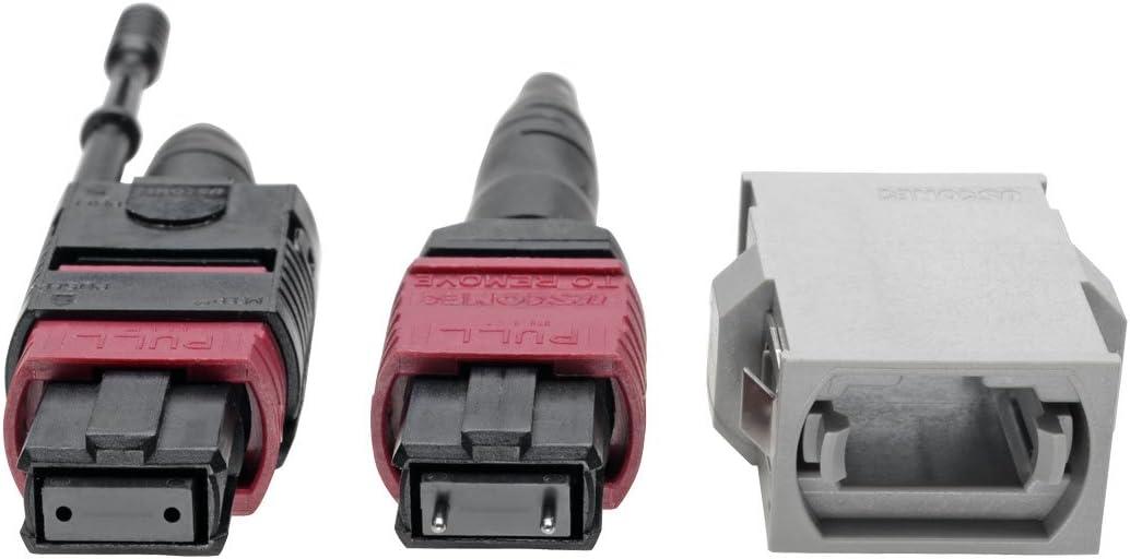 N846-08N-A2B Tripp Lite MTP//MPO Parallel Optics Base-8 Migration Fiber Adapter OM4 Polarity A to B 40//100 Gbe M//F 8