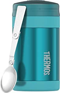 Thermos Stainless Steel Insulated Food Jar, 470ml, Teal, TS3015TL4AUS