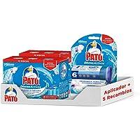 PATO® Set met wc-schijven, reinigt en desinfecteert, bevat 1 applicator + 5 reserveonderdelen