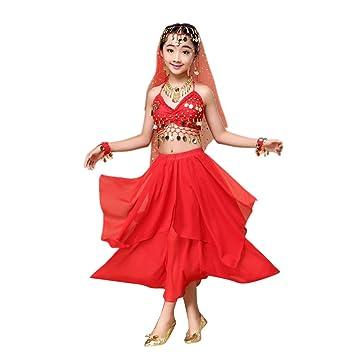 Feixiang Ropa Infantil para niñas Vestidos para niños Disfraces de ...