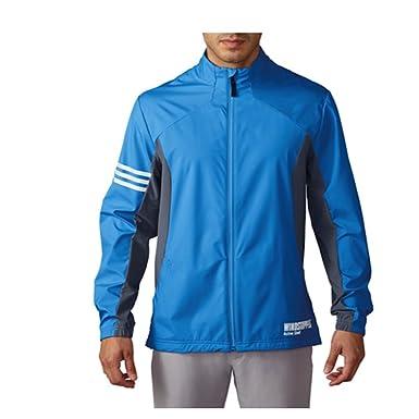 adidas Windstopper Full Zip Chaqueta De Golf, Hombre: Amazon ...