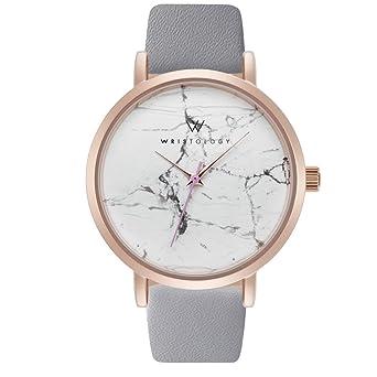 Amazon.com  WRISTOLOGY Olivia Womens Rose Gold Marble Wrist Watch ... 6fbf066029
