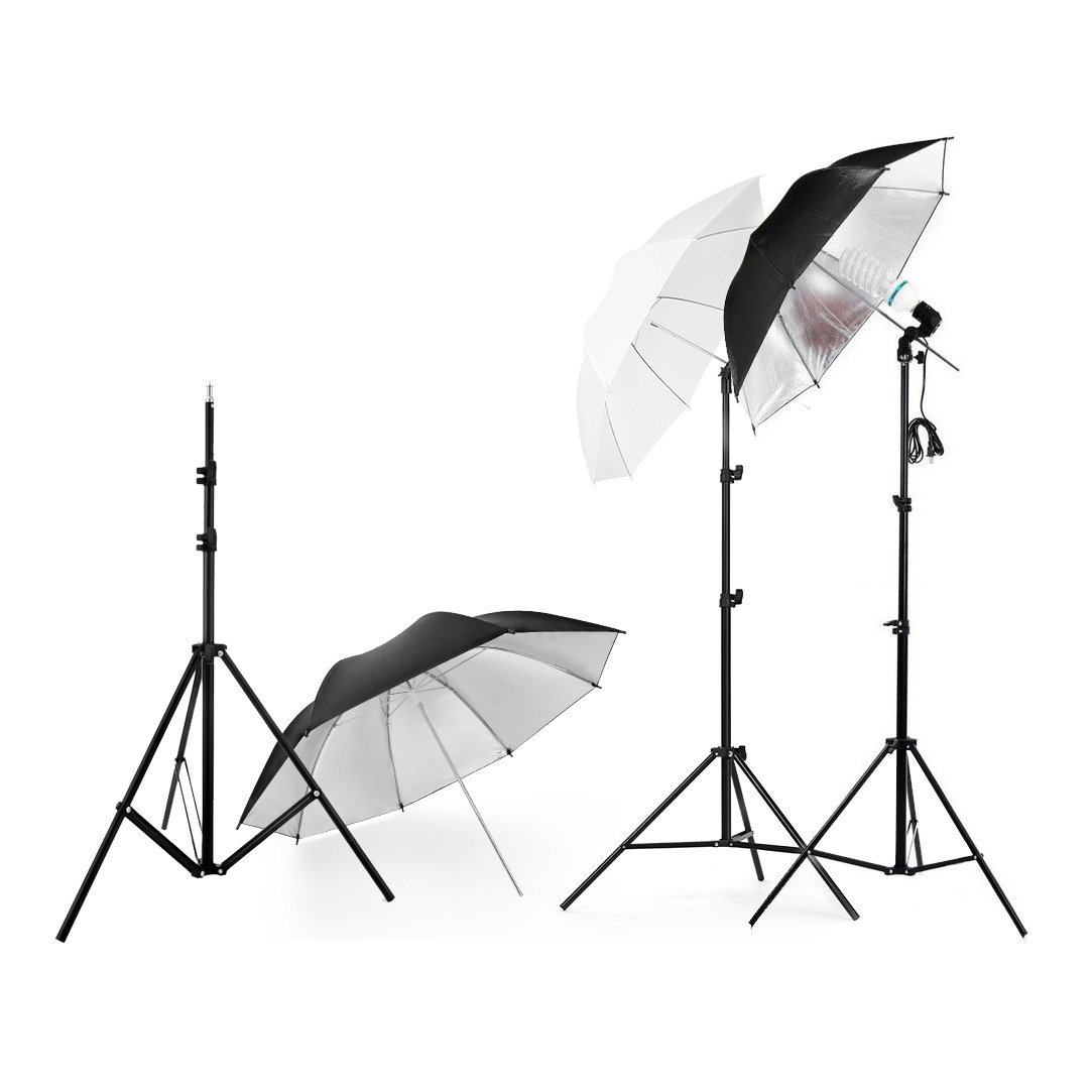 Lightdow Photography Photo Umbrella Lighting Kit For Portrait Studio Youtube Vlog Interview (Model Number: LD-TZ001)
