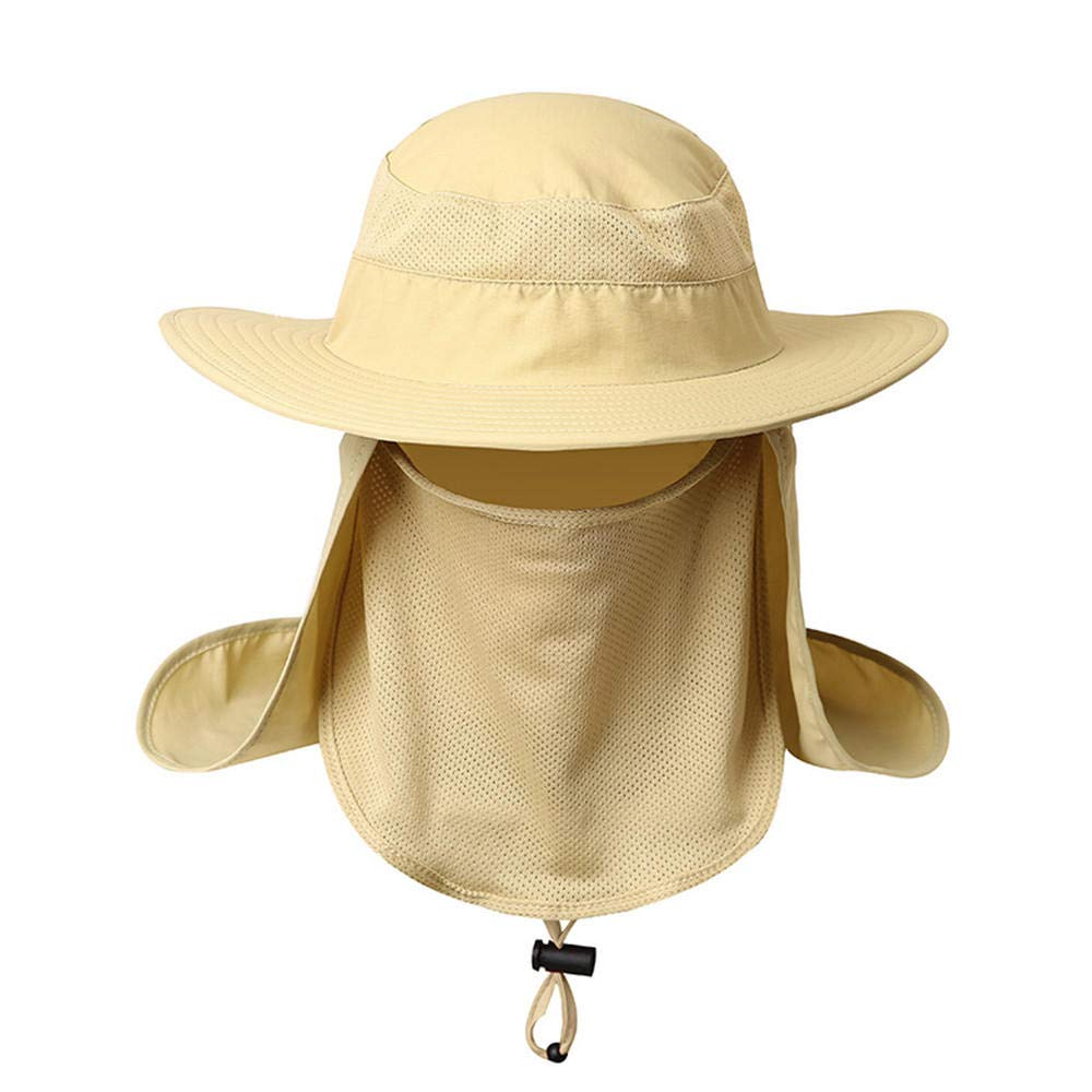 Elegant Lady Sun Outdoor hat Women's Summer Elegant Outdoor Shopping Sun Protection Sun hat, M (56-58cm), Beige