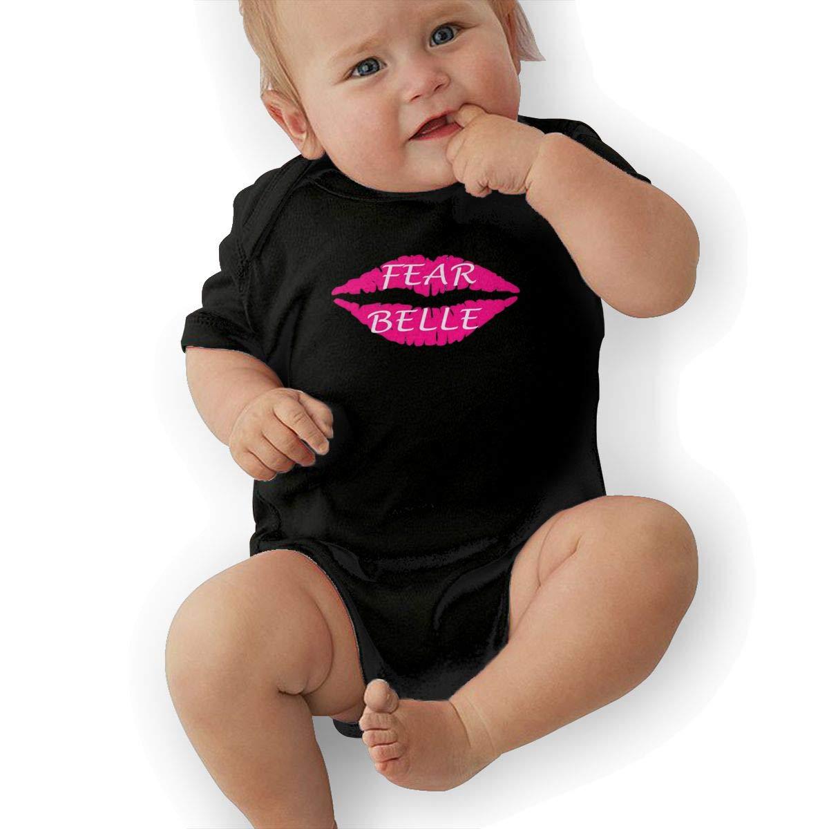 Dfenere BelleLove Merch Hip Hop Newborn Baby Short Sleeve Bodysuit Romper Infant Summer Clothing