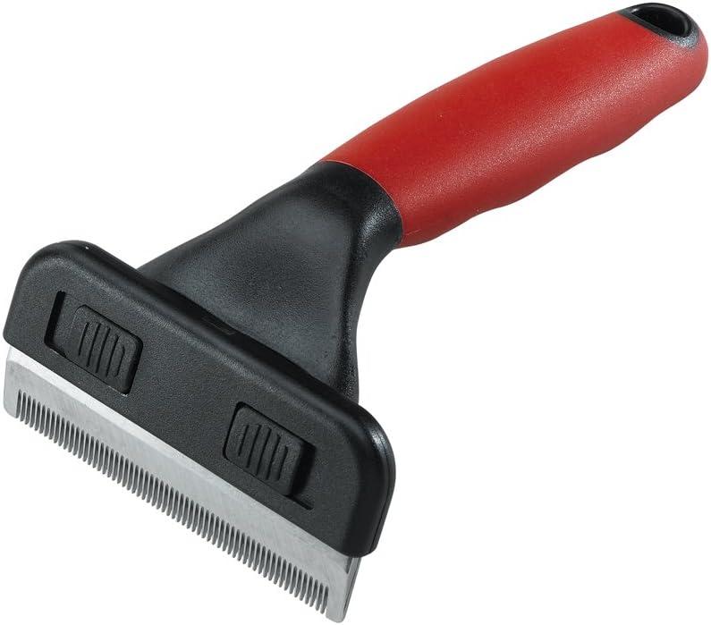 Ferplast 85960899 Cepillo Perro Gato Gro 5960 Trimmer Small, Rosso