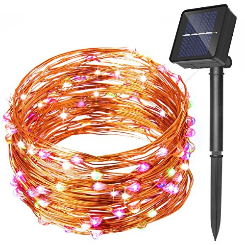 100 Solar String Lights - 4