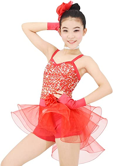 Childrens Sweetheart Neckline Dance Dress in 4 Colors