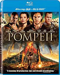 Pompeii Blu-ray 3D + Blu_ray + digital HD Ultra violet.