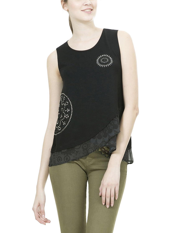 Desigual Damen T-Shirt Ts_Grecia