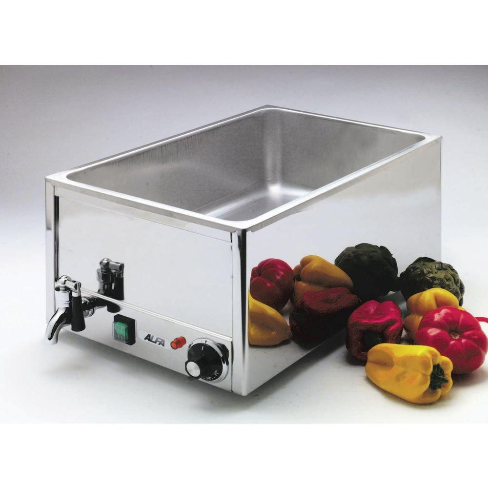Alfa FW9000 Food Warmer Countertop Electric full size pan wet operation