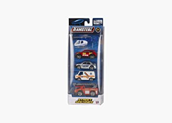 Teamsterz 1416212 Pack 5 Coches Die Cast 1:64 , color/modelo ...