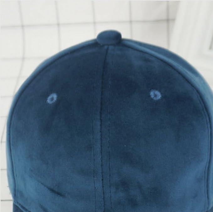 Cosanter Herren Baseball Caps Suede Baseballmütze Hüte & Mützen für ...